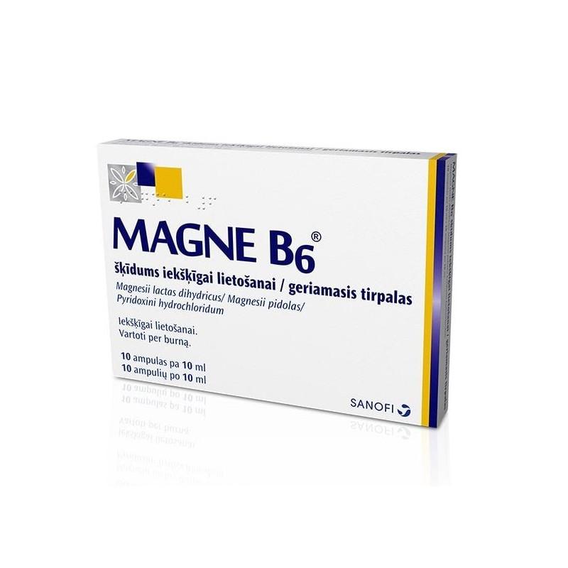 Magnelis B6 skirtas hipertenzijos apžvalgoms rehidronas ir hipertenzija